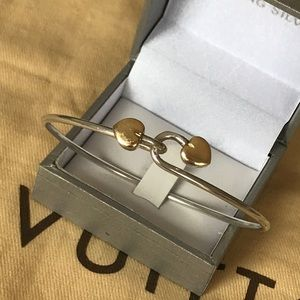Authentic Tiffany & Co Heart 925/750 bracelet